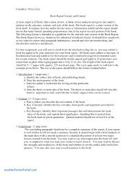 Resume Book Fine Sample Book Report Outline Photos Resume Ideas Bayaar 85