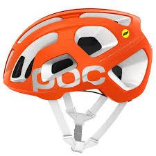 Poc Octal Mips Helmet Orange Fluo