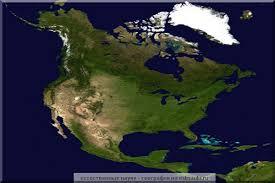 Географическое положение Северной Америки Карта Северной Америки