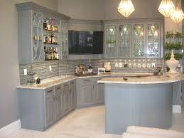 Painted Wood Kitchen Floors Kitchen Wonderful Custom Glazed Kitchen Cabinets Image With