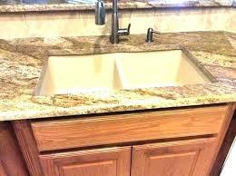 kitchen sink granite stainless sinks corner double bowl countertops undermount sinks for granite countertops installing undermount bathroom sink granite