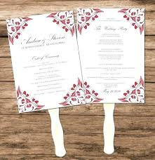 printable program templates free vintage wedding program templates
