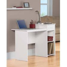 ... Wonderful Modern White Computer Desk Picture Inspirations Amazon Com  Student Dorm Home Office Laptop Wood Decor ...