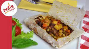 Kağıt Kebabı Tarifi   Nefis Yemek Tarifleri - YouTube