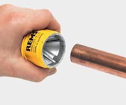 metal deburring tool. metal deburring tool / for tubes rems e