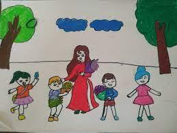 Bé ước mơ trở thành cô giáo - VnExpress Đời sống