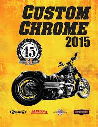 custom chrome 2015 icatalog page cover