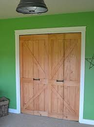 how to update bi fold closet doors