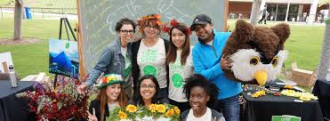 jobs internships community service california state sustainability staff and volunteers at the green prize festival