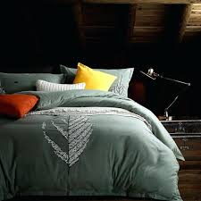 svetanya leaf embroidered bedding sets queen king size 100 egyptian cotton duvet coverbedsheetbanana cover print set