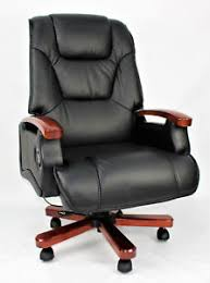 office reclining chair. Perfect Reclining Image Is Loading GenuineLeatherFullReclinerExecutiveOfficeChair Superb In Office Reclining Chair