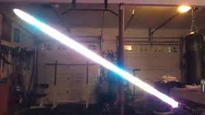 multi spectrum rgb f led string blade lightsaber with plecter labs crystal focus ls you