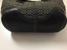 Coach Tote Monogram Leather Soho Shoulder Bag. 123456