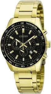 citizen gold watches best watchess 2017 men s gold citizen chronograph stainless steel watch an8072 58e
