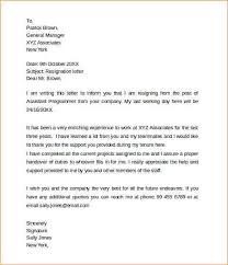 2 weeks notice job resignation sample 2 week notice resignation letter