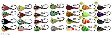 Wonderbread Skandia Pelkie Tungsten Ice Jigs Great Lakes