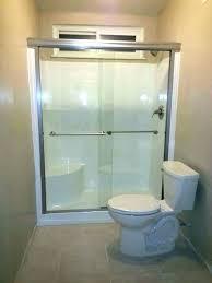 shower stall door installation cost to install shower door how to install a shower stall adding