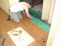 design ideas installing cork flooring new how to install