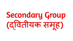 Secondary Group What Is Secondary Group In Hindi Sociology