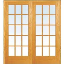 office doors interior. 60 In. X 80 Both Active Unfinished Pine Glass 15-Lite Clear Office Doors Interior T