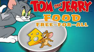 Tom And Jerry Food Fight Gameplay Movie Cartoon Game Wallpaper Hd 1200x1200  : Wallpapers13.com