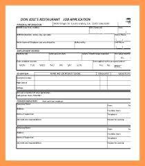 Free Downloadable Employment Application Forms Basic Job Application Template Pdf