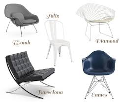 Chair Design Ideas, Iconic Chairs Iconic Chairs You Should Know Grey White  Or Black Color