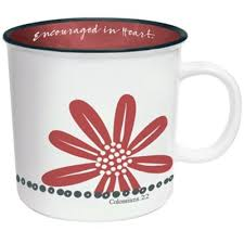 Our ceramic sacred heart mugs are microwave safe, top shelf dishwasher safe, and have easy to hold grip handles. Encouraged In Heart Coffee Mug Christianbook Com