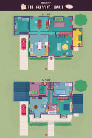 family guy griffin house floor plans