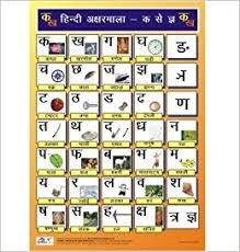Swar Vyanjan Chart Amazon In Buy Hindi Alphabet Charts Consonants For Kids