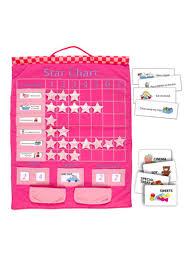 Fiesta Crafts Star Chart Shop Fiesta Crafts Star Chart Wall Hanging Pink 42x54