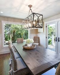 table light fixture house of turquoise harper construction i have these chairs great idea with the cushions love the long farm table have been looking