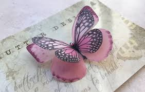 <b>Бабочки</b>-<b>заколки</b> из шелка