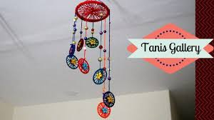 How To Make A Wind Chime How To Make Wind Chimes With Bangles And Woolen Making Wind
