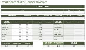Payroll Sheet Samples 15 Free Payroll Templates Smartsheet