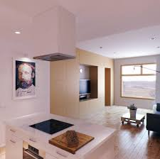 Kitchen Wall Decorating Inspiring Kitchen Wall Decor Using Oil Painting And Wall Lights