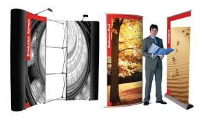 Promotional Stands Displays Classy Banner Stands Promo Stands Promotional Display Portable