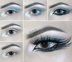 maquiagem gotica po a po o aplicar maquiagem gótica uiera 1 let s start out goth eye makeup with