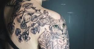Magická Přírodní Tetování Krása Zvířat A Rostlin Bleskcz