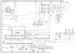 samsung clk crt tv service mode circuit diagram audio output schematic
