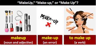 makeup make up or make up