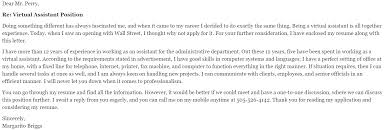 27 cover letter for virtual istant