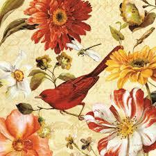 Vintage Floral Print Vintage Floral Art Prints