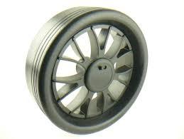 powakaddy spoked sport wheel for powakaddy golf trolleys quick release wheel for all powakaddy carts
