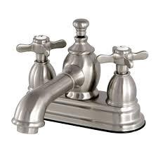 cross centerset bathroom sink faucets