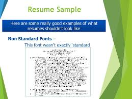 what resumes practical advice for your job search ppt download