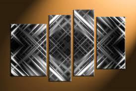 home wall d cor 4 piece canvas art prints black and white canvas print  on grey and white canvas wall art with 4 piece canvas grey abstract wall decor