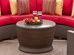 Wicker Rattan Living Room Furniture Extraordinary Round Coffee Table Ideas For Living Room Furniture