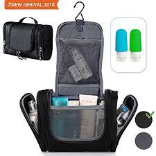 travel hanging toiletry bag toiletry kit for women men shower bag large mens womens cosmetic makeup shaving toiletries organizer best traveling gym
