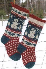 Christmas Stocking Knitting Pattern